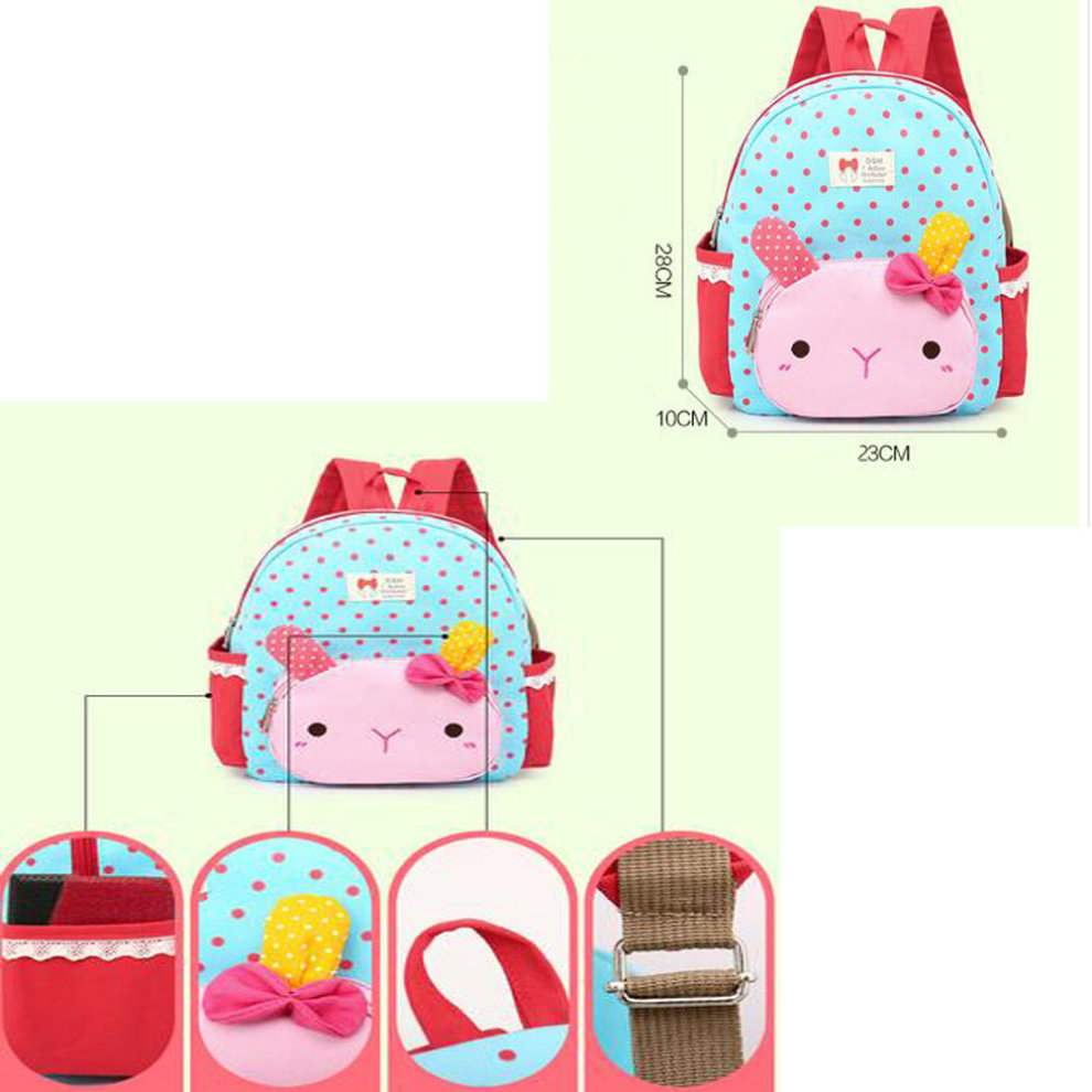 c583a5aa0b56 Kindergarten Shoulder Bag Cute Cartoon Backpack Boys And Girls Lovely  Design Color School backpack,G