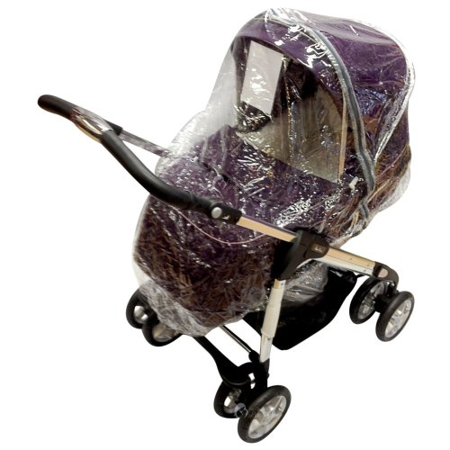 Raincover Compatible with Silver Cross 3D Pushchair (198)
