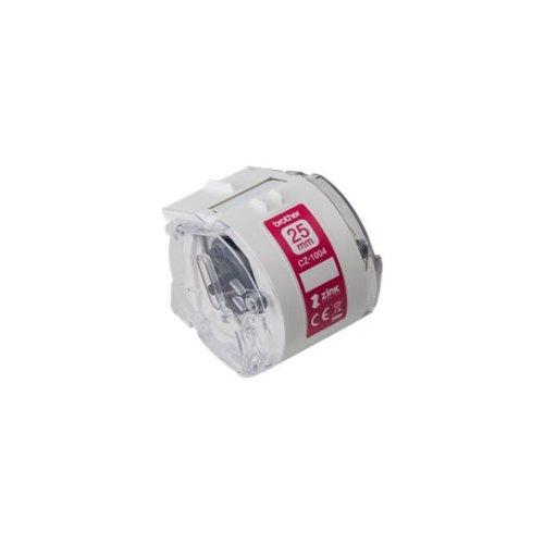 Brother CZ-1004 White label-making tape