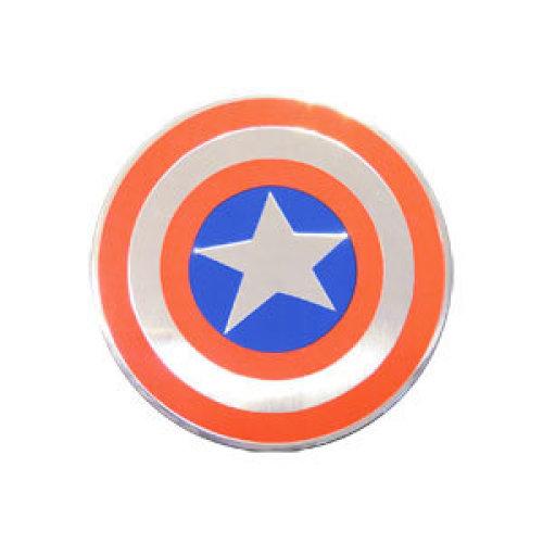 Sticker - Marvel - Marvel - Avengers - Captain America Shield Metal New Toys s-mvl-0033-m