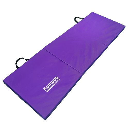Komodo Tri Folding Gym Mat - Purple