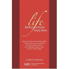 NIV Compact Life Application Study Bible (Anglicised): Red Soft-tone (New International Version)