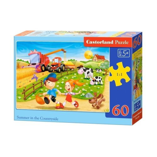 Csb06878 - Castorland Jigsaw Classic 60 Pc - Summer in the Countryside