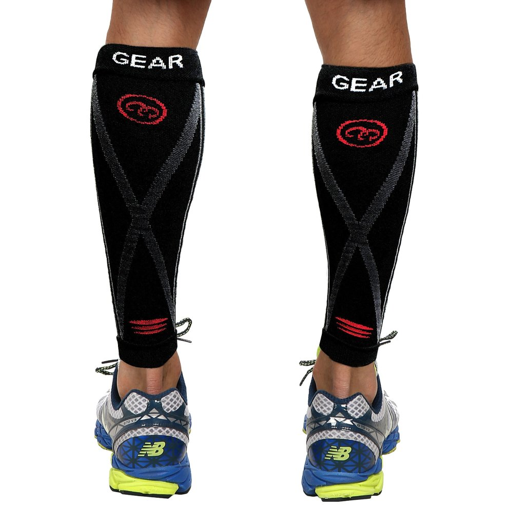 e488be339a ... Compression Sleeve- Prevent Shin Splints, Calf Strains,Plantar Fasciitis,-  Leg Socks ...