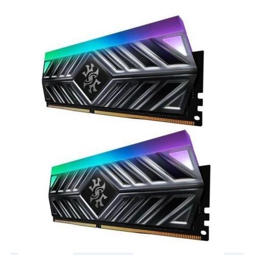 ADATA XPG Spectrix D41 RGB LED 16GB Kit (2 x 8GB), DDR4, 3600MHz (PC4-28800), CL16, XMP 2.0, DIMM Memory