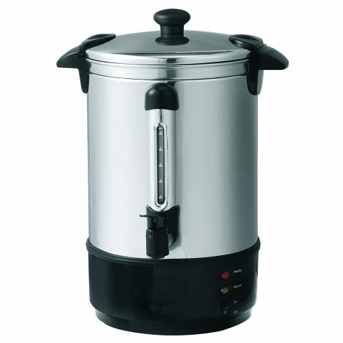 Global Gourmet 8.8 Litre (35 Cups) Stainless Steel Water / Tea Urn