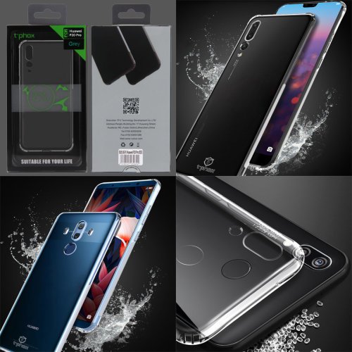 Tough Gel Cover for Huawei Phones TPU Skin Case Armour Series Airbag Corners by t-phox