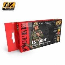 Ak03070 - Ak Interactive Set Us Army Soldier Uniform Colors