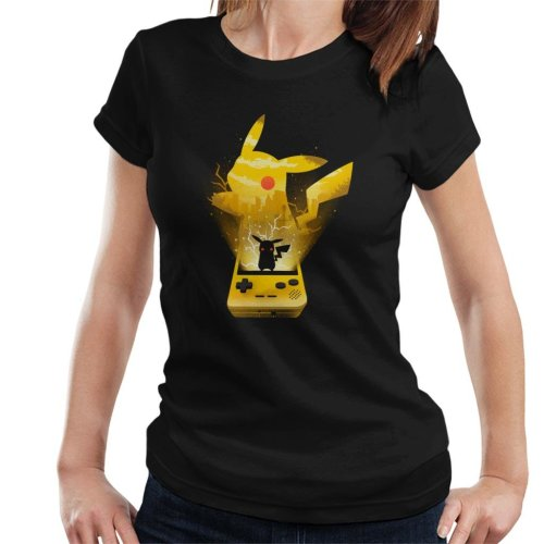 Pokemon Yellow Montage Women's T-Shirt