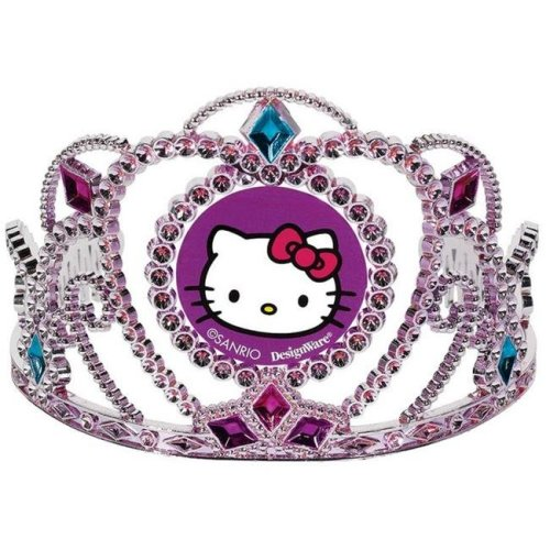 Amscan 250350 Hello Kitty Rainbow Tiara - Pack of 6