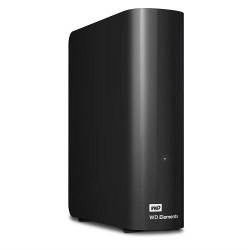 Western Digital WD Elements Desktop Micro-USB B 3.0 (3.1 Gen 1) 2000GB Black external hard drive