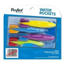 Official 'Perfect Pools' Water Rockets | Swimming Pool Toy & Diving Game
