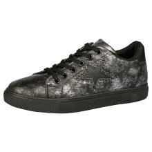Elease Womens Flatform Casual Fitness Fashionable Lace Up Trainers