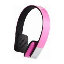 Groov-e Tempo Wireless Bluetooth Headphones with Microphone - Pink (GVBT200PK)