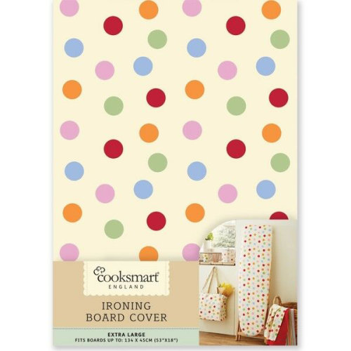 Cooksmart Spots Ironing Board Cover, Extra Large