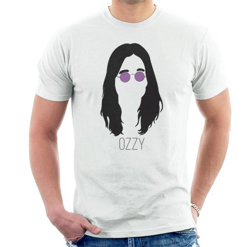 Ozzy Osbourne Music Icon Silhouette Men's T-Shirt