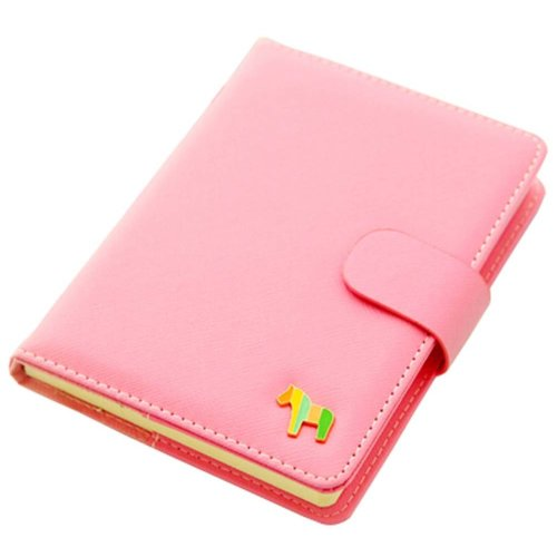 Pink Notebook Portable Office Mini Pocket Portable Schedule Personal Organizer