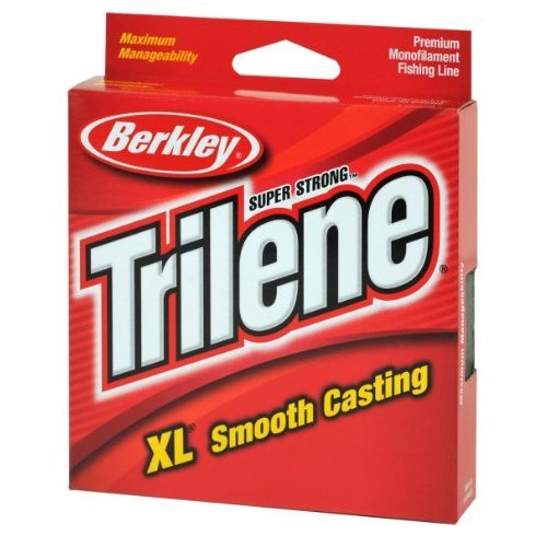 Berkley Trilene XL Smooth Casting Monofilament Service Spools XLPS2 15 110 Yd pound test 2 Clear