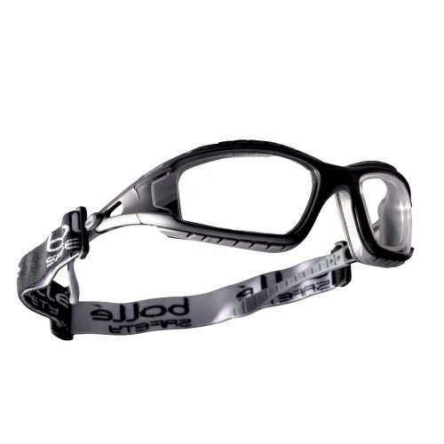 Bolle TRACKER TRACPSI Safety Glasses Spectacles Goggles Clear Lens
