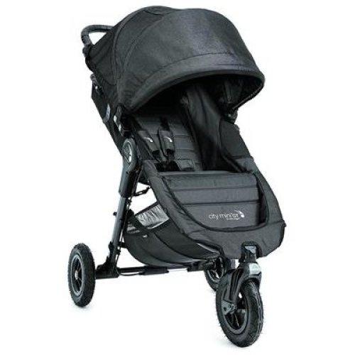 Baby Jogger City Mini GT Stroller - Single, Charcoal Denim