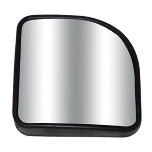 Cipa 49403 3 x 3 In. Corner Wedge Stick-On Convex Hotspot Mirror