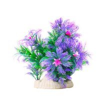 Emulational Fish Tank Plants Aquarium Decor Coral Decoration,Purple