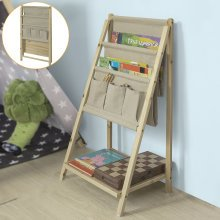 SoBuy® FRG276-N, Foldable Bookshelf Magazine Rack Newspaper Holder Storage Display Shelving