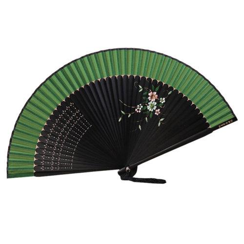 Retro Chinoiserie Silk Fan Hand Fan Beautiful Folding Fan Handheld Fan L
