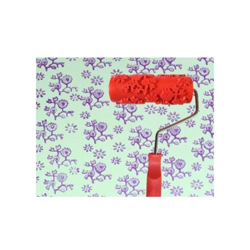 Classical Embossed Paint Roller Wall Painting Runner Wall DIY Tool, Pattern 05