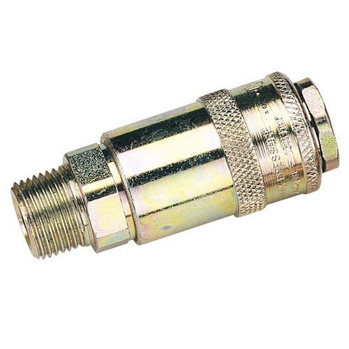 "Draper 37836 3/8"" Male Thread PCL Tapered Airflow Coupling"
