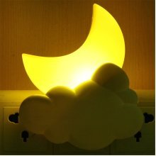 Creative Moon Bedside Lamp Induction Light