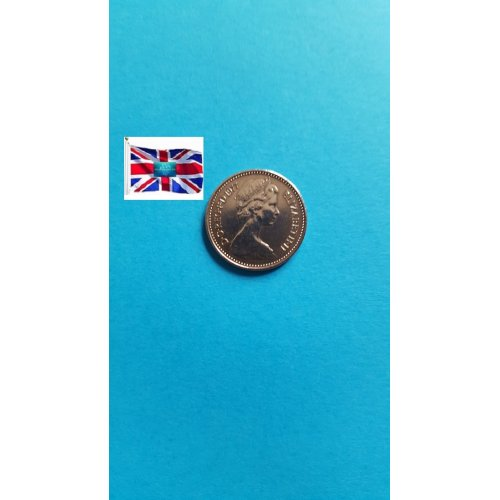 """Great Britain 1977 """"½ New Penny - Elizabeth II 2nd portrait"""