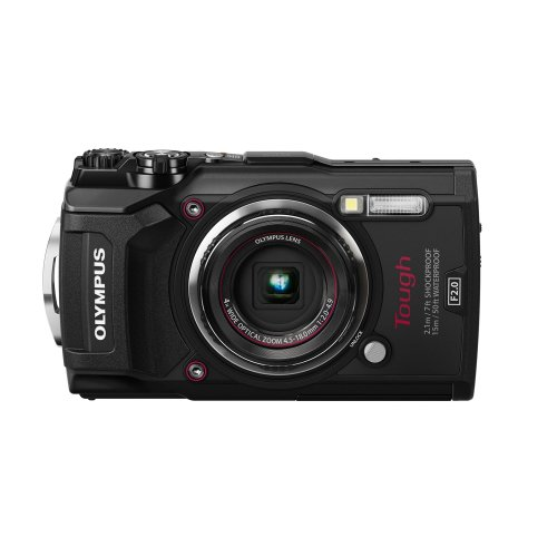 Olympus Tough TG-5 Camera - Black | Waterproof Digital Camera