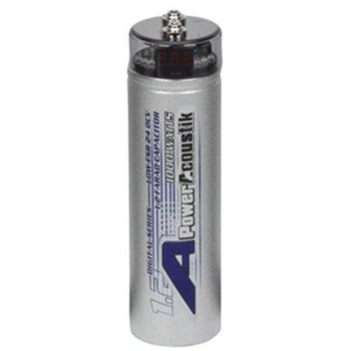 POWER ACOUSTIK PC1 0F 1-Farad Digital Power Capacitor