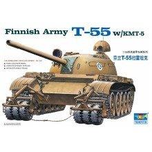 Tru00341 - Trumpeter 1:35 - Finnish Army T-55 W/kmt-5