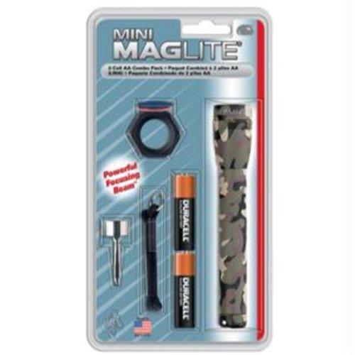 Maglite M2A02C AA Mini mag Camo Flashlight - Combo Pack