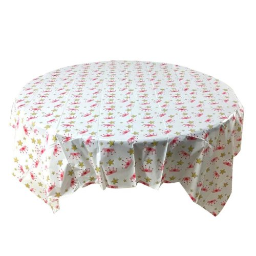 Set of 2 Waterproof Hotel Tablecloth Indoor Outdoor Disposable Tablecloth,C4