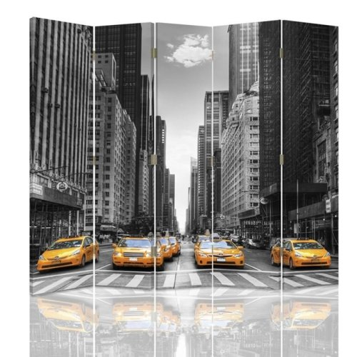 NYC Cab Screen/Room Divider