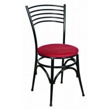 Ella Chair - Chrome and Padded