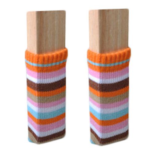 Set Of 24 Knitting Chair/Table Leg Pad Furniture Sock Floor Protector #21