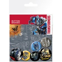 Transformers 4 Age Of Extinction Badge Pack -  transformers 4 age extinction badge pack