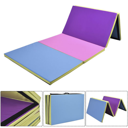 10FT Folding Gymnastics Tumble Floor MatExercise Color