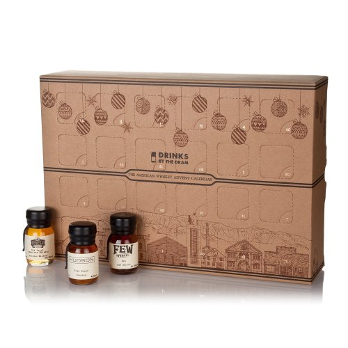 Drinks by the Dram 2017 The American Whiskey Advent Calendar, 24 x 3 cl