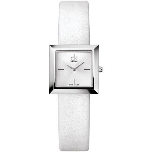 Calvin Klein ck Mark Leather Ladies Watch K3R231L6