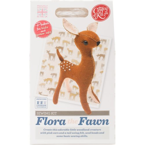 The Crafty Kit Co. Sewing Kit-Flora The Fawn