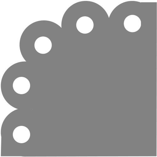 Fiskars Corner Lever Punch-Circles