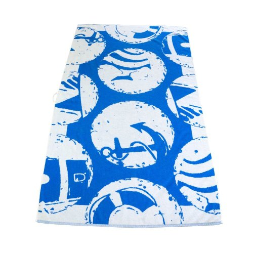 outdoorer Maritim, the beach towel, bath towel, gym towel in XXL format, extra soft for beach holidays