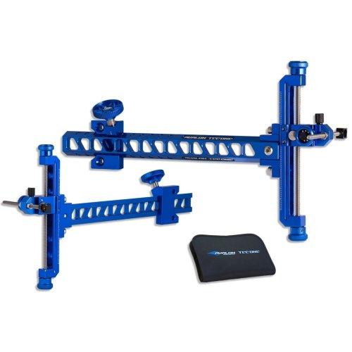 New Avalon Archery Tec One Recurve Aluminium Sight with Storage Case RH/LH