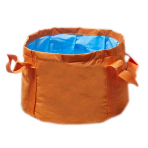15L Portable Folding Wash Basin Leak-proof Foldable Bucket Footbath Basin with Carrying Pouch #12