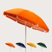 Beach Parasol with 200cm Cotton Canopy TROPICANA